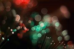 Kolorowi świeceń światła Obrazy Stock