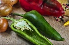Kolorowi świezi organicznie warzywa fotografia stock