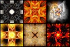 kolorowi abstrakcjonistyczni tła Obrazy Stock