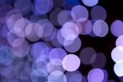 Kolorowi abstrakcjonistyczni wakacyjni światła Obraz Stock