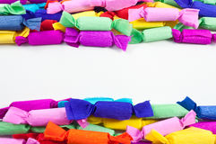 kolorowi asortowani cukierki Zdjęcia Stock