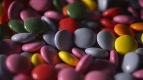kolorowi asortowani cukierki zbiory wideo