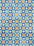 Kolorowi azulejos, stare płytki w Starym miasteczku Lisbon, Portugalia fotografia royalty free