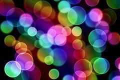 Kolorowi bąble Zdjęcie Stock
