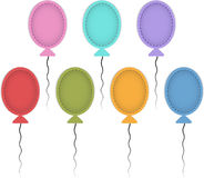 Kolorowi ballons Obrazy Stock