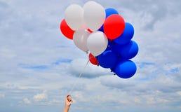 Kolorowi balony. Obraz Stock