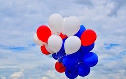 Kolorowi balony. Zdjęcia Royalty Free