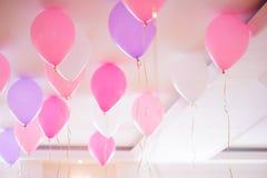 Kolorowi balony Zdjęcia Royalty Free