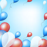 Kolorowi balony ilustracja wektor