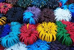 Kolorowi bangles dla kobiet Obraz Royalty Free