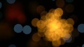 kolorowi bokeh światła zbiory