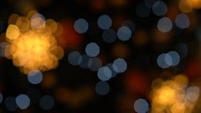 kolorowi bokeh światła zdjęcie wideo