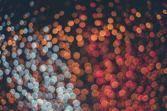 kolorowi bokeh światła Obraz Royalty Free