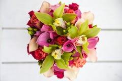 kolorowi bukietów kwiaty Obrazy Stock