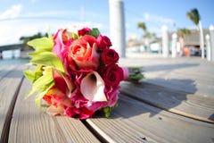 kolorowi bukietów kwiaty Zdjęcie Stock