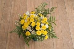 kolorowi bukietów kwiaty Fotografia Stock