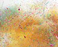 kolorowi confetti Fotografia Stock