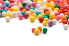 Kolorowi cukierków confetti fotografia royalty free