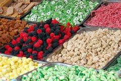 kolorowi cukierków cukierki Zdjęcia Stock