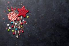 Kolorowi cukierki Zdjęcie Stock