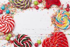 Kolorowi cukierki Zdjęcia Stock