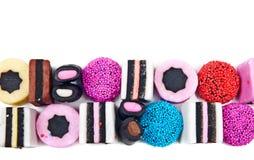 kolorowi cukierki Obrazy Stock