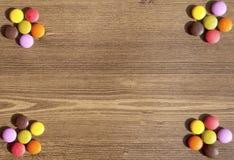 Kolorowi cukierki dla bacgrounds Obraz Stock
