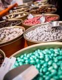 Kolorowi Czekoladowi cukierki Obrazy Royalty Free