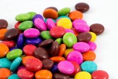 Kolorowi czekoladowi cukierki Obraz Royalty Free