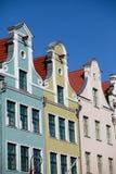 kolorowi domy Zdjęcie Royalty Free