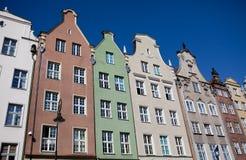 kolorowi domy Obrazy Royalty Free