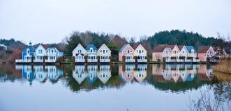 kolorowi domy Fotografia Royalty Free