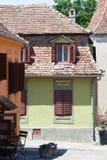 Kolorowi domy Sighisoara Fotografia Stock