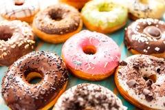 kolorowi donuts zdjęcie stock
