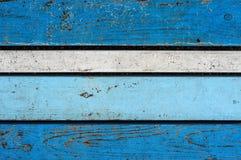 Kolorowi drewniani biurka Zdjęcia Stock