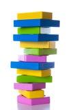 Kolorowi drewniani bloki Obraz Royalty Free