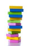 Kolorowi drewniani bloki Obraz Stock