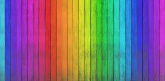 Kolorowi drewniani tła obraz stock