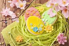 Kolorowi Easter ciastka Zdjęcia Royalty Free
