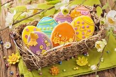 Kolorowi Easter ciastka Obraz Royalty Free