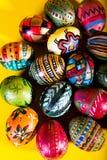 Kolorowi Easter jajka Fotografia Stock