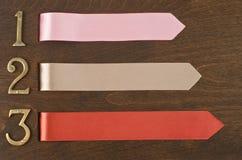 Kolorowi faborki Zdjęcie Stock