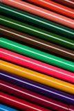 Kolorowi filc porady pióra ustawiają teksturę Fotografia Stock