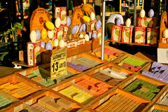 kolorowi francuza rynku mydła Zdjęcie Royalty Free