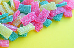 Kolorowi galaretowi cukierki Zdjęcie Royalty Free