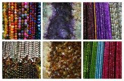 Kolorowi gemstones zdjęcie stock