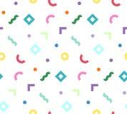Kolorowi geometryczni kształty Obrazy Stock