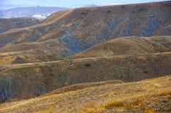 Kolorowi gliniani wzgórza Obraz Royalty Free