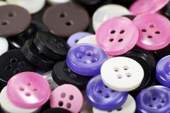 Kolorowi guziki Obraz Stock