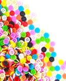 Kolorowi guziki, Kolorowy Clasper Obrazy Royalty Free